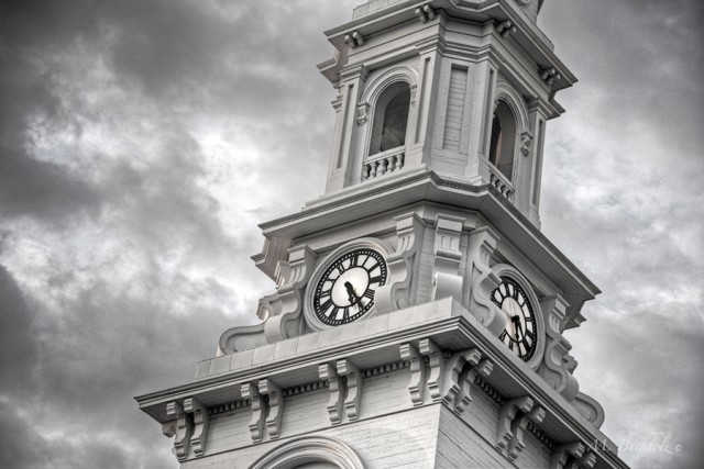 North Church Clocktower; Portsmouth, NH